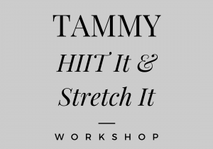Tammy HIIT Workshop 1